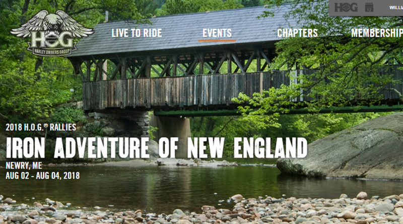 Iron Adventure of N.E. Rally- Aug 2-4 – Sunday River, Newry, ME
